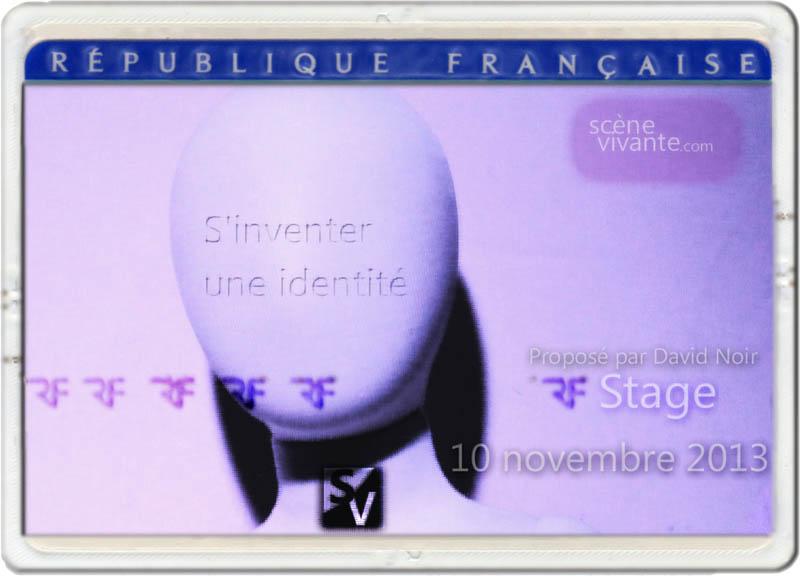 David Noir _ Identité _ Stage_Scène Vivante